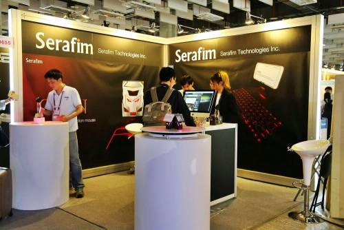 碩擎科技 Serafim 推出雷射投影鍵盤 iKeybo 再度奪得 BC Award
