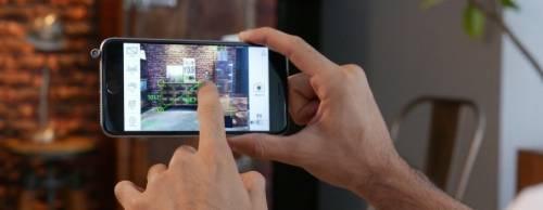 iPin 雷射光尺使 iPhone 成為測量距離的工具