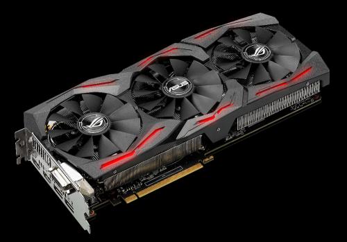 旗艦電競顯卡降臨 ROG STRIX GeForce® GTX 1080六月中旬正式上市