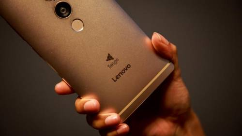 Google Tango正式亮相 Lenovo Phab2 Pro帶著Lenovo Phab2 Plus登場