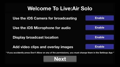 [免費] 直播神app推薦- Live: Air Solo 為你的直播加上浮水印