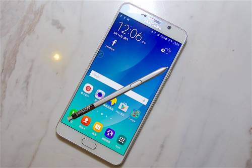 三星Galaxy Note 7預告圖曝光 將有可能搭載曲面螢幕