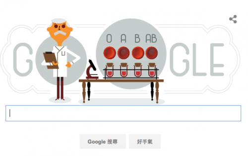 Karl Landsteiner 讓捐血更安全 血型系統拿下諾貝爾獎