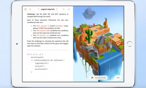 2016 APPLE WWDC 觀點:Swift Playgrounds 鞏固系統基礎的利器