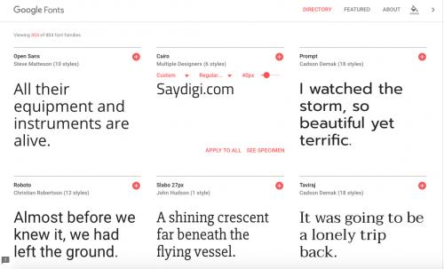 字型控快看過來 Google Fonts全新介面 操作設計更方便