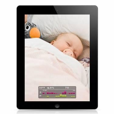 嬰兒監控器+iPhone iPad= 寶貝隨時在你身邊