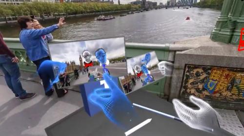 FACEBOOK開放 在VR中也能對影片按讚