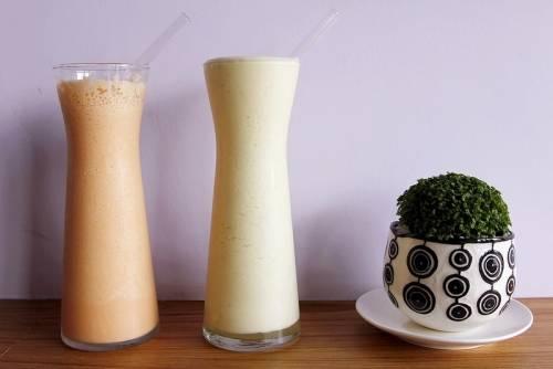 新竹這家冰品正夯!舞茶弄冰。新鮮現做的整顆哈密瓜冰太誇張