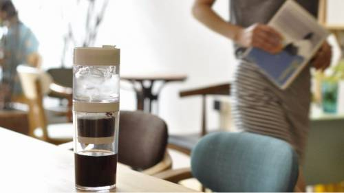 Dripo 三合一冰滴咖啡杯 帶上專屬自己的行動咖啡杯