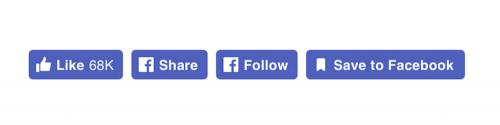 Facebook推出新版文章按讚圖示 讓按讚動作更加直覺