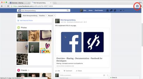 Facebook推出稍後閱讀與文章分享兩款Chrome擴充工具