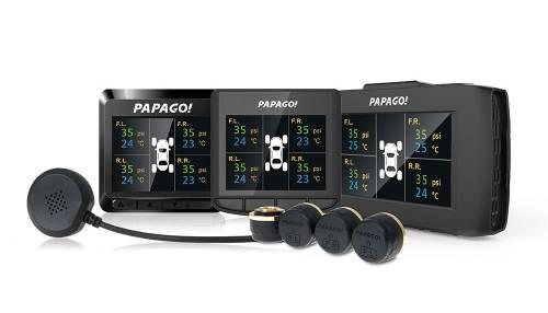 高溫到!快裝PAPAGO 前後鏡行車記錄器兼測胎壓