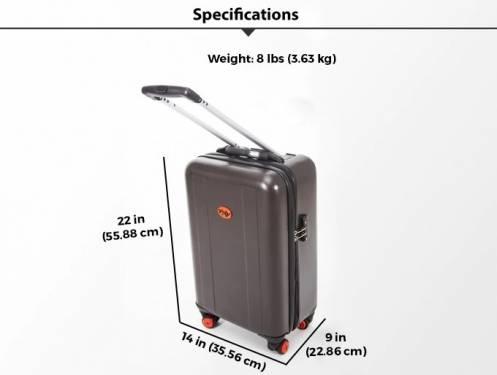TraxPack Luggage 行李箱 拖著上下樓梯照樣行走自如!