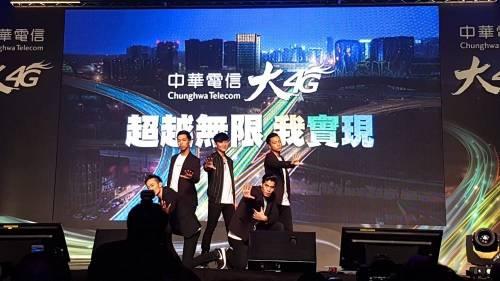 中華電信大4G代言人 林俊傑