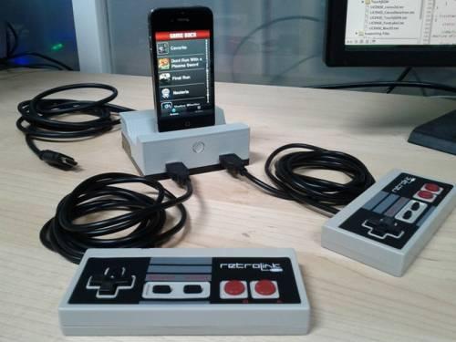 GameDock 讓 iPhone 變成紅白機的卡匣