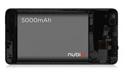 牛逼啊!5000mAh超大容量電池平價手機 ZTE Nubia N1中國發表