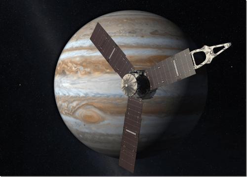 朱諾號成功抵達木星軌道 五年28億公里長途飛行成功