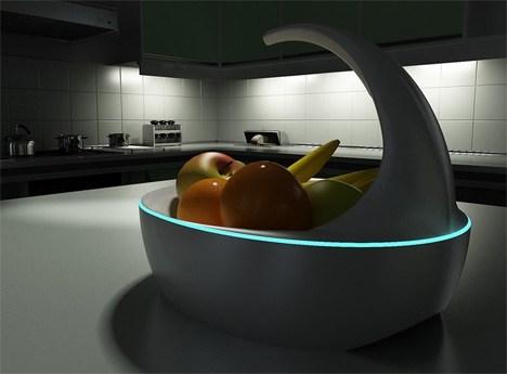 Blue 智慧水果盤 時時為你洗好的水果保鮮