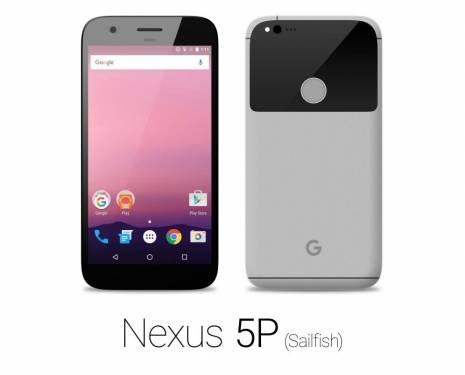 如果下一代Google Nexus 5P Sailfish 長這樣其實也挺好看的