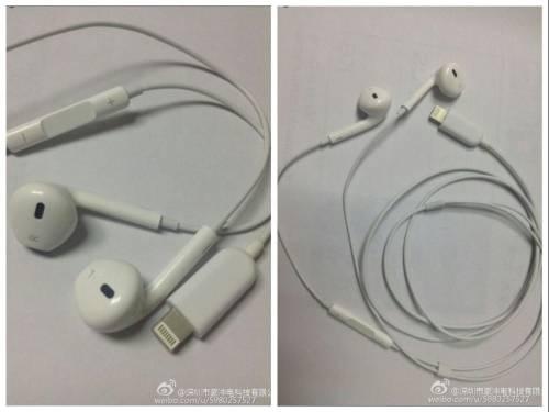 Apple EarPods實品曝光 證實採用Lightning接頭