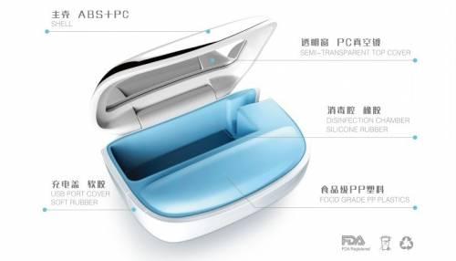 BioSYS 便攜式除菌牙刷盒 6分鐘給你一支新牙刷