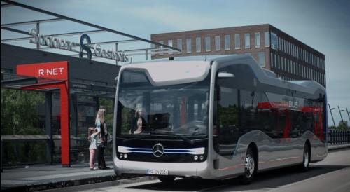 Mercedes-Benz Future Bus 賓士自動駕駛公車 荷蘭測試