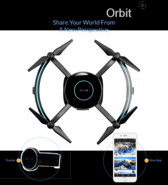 Skye Orbit 智慧無人機 個人的空中攝影師 全角度如影隨形跟拍你