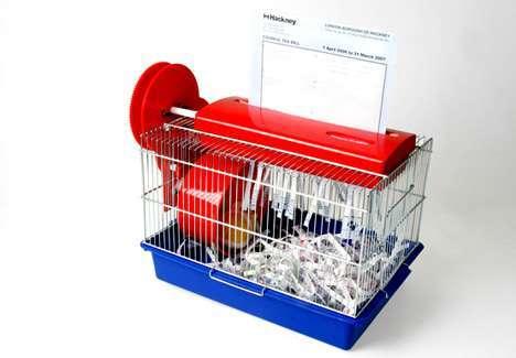 有趣的碎紙機創意設計