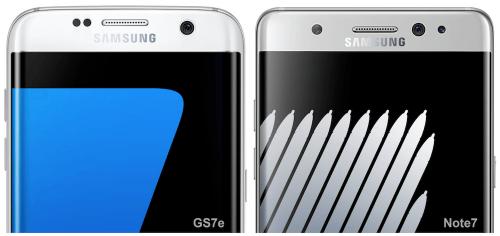 圓潤對上方正 Samsung Galaxy S7 edge與Galaxy Note 7外觀大比拼