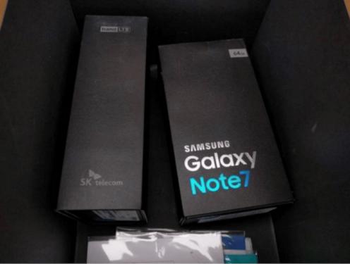 韓版Galaxy Note 7正式盒裝 規格曝光