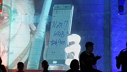 Samsung Galaxy Note7 5 日下午3:00 開放預購