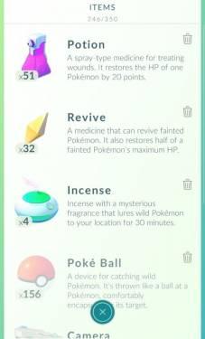 Pokemon GO寶可夢道具使用方法一覽表 原來櫻花樹是這樣來的