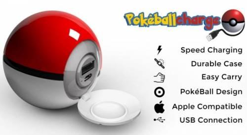 Pokemon Go 寶可夢 神奇寶貝球行動電源 可別太順手丟出去