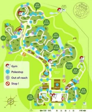 臺北市立動物園高唱派對動物!推出 Pokemon GO 寶可夢訓練師地圖