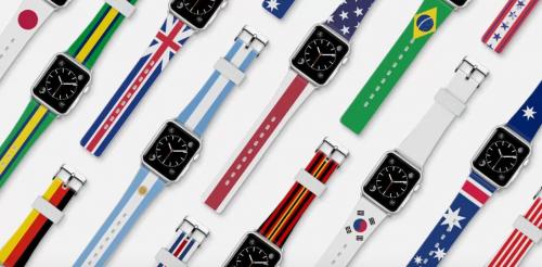 為Apple Watch換上奧運風新衣 Casetify推出奧運風系列