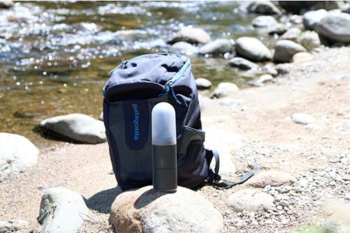 野外露營充電與照明小幫手Estream 隨時提供滿滿電力的小型水力發電行動電源