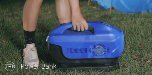 Zero Breeze是風扇 藍牙喇叭 同時也是超大型行動電源