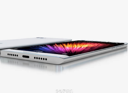 小米Note 2外觀照片亮相 可望搭載6GB RAM 雙曲面螢幕