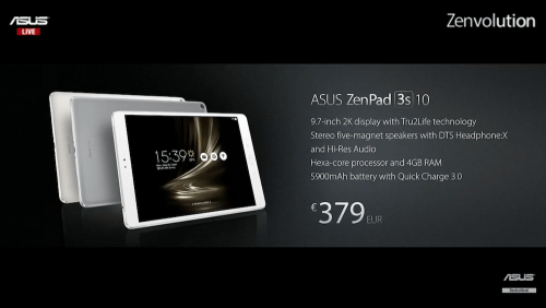 ASUS ZenWatch 3發表亮相 諸多新品一同登場