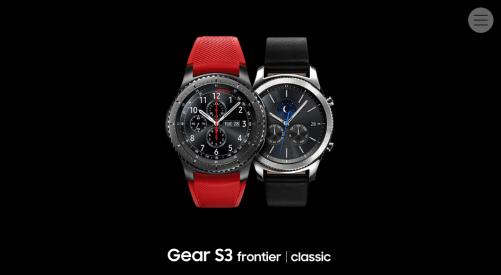[2016 IFA] Samsung Gear S3共有兩款 支援直接通話與音樂下載