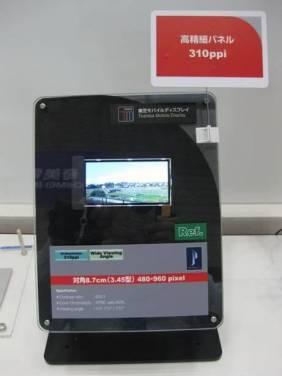 高銷售量一定要高規格嗎?Toshiba的367ppi面板