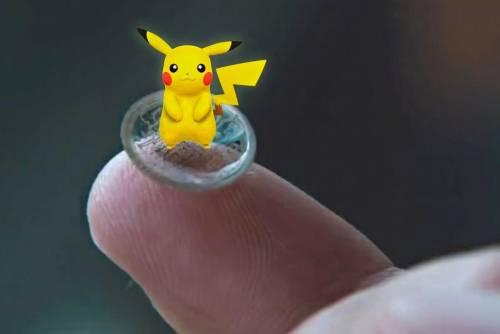 這樣的AR隱形眼鏡 就算不是Pokemon GO玩家都想要