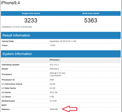 不用再猜了 iPhone 7 Plus 記憶體容量正式曝光