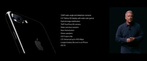 iPhone 7 7 Plus台灣首發 蘋果發表會重點快速整理
