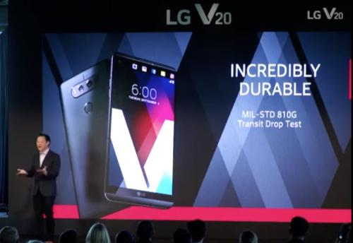 LG V20正式發表 金屬機身搭配強悍影音規格 散發成熟金屬時尚感