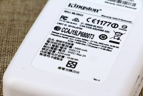 Kingston MobileLite Wireless G3開箱 遊山玩水背包中不可或缺的備份工具