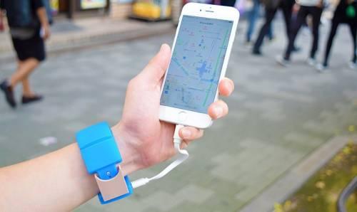 Pokemon Go必備行動電源 手錶型行動電源 ウォッチャGO
