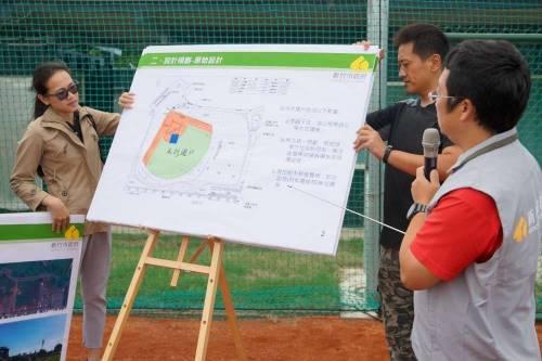 教練:不用流浪打球了!新竹市虎林棒球場10月26日啟用! 禮讓釘子戶照樣完工