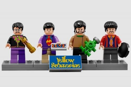 快搶 LEGO推出披頭四Yellow Submarine組