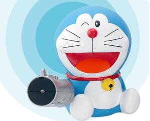 懷舊玩具 哆啦a夢空氣砲